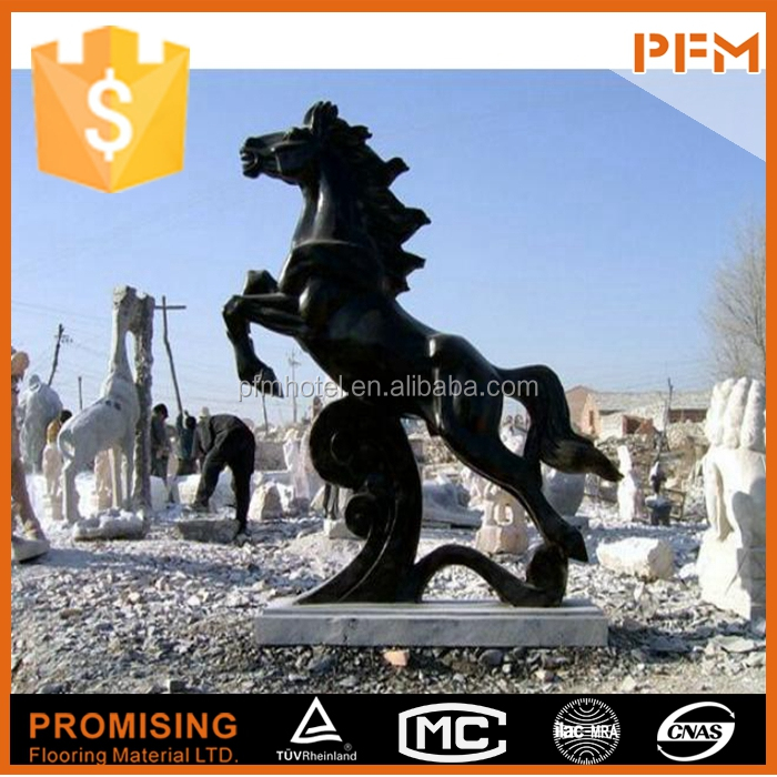 Marble Ancient Horses Sculpture