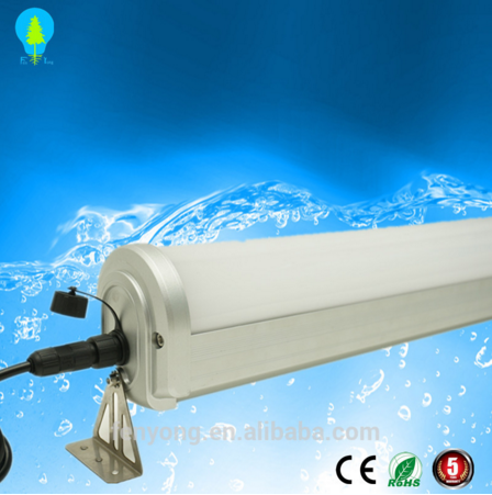 4ft 1200mm 40w 50w LED Tri-proof tube lamp IP66 waterproof led strip boat lighting