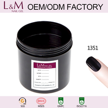 Gel for nails in gallon bulk package uv nail gel polish