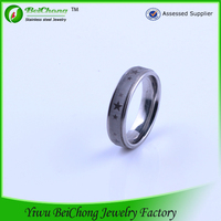 High grade stainless steel roating gear ring with stars design