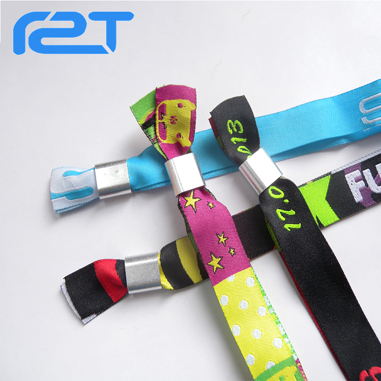 2017Hot sale festival fabric wristbands bracelet Christmas gift