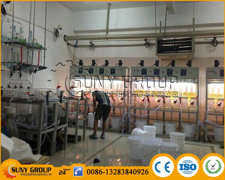 High extract Purity e-waste gold recovery machines