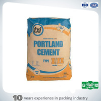 brown color cement bag block bottom valve kraft paper cement bag