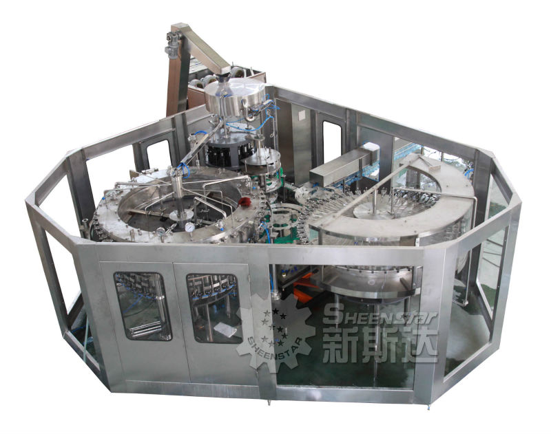 energy drink filling machine factory running stability