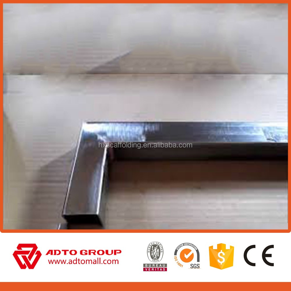 ASTM A 500 pre galvanized square pipe, Chinese trading companies export to use