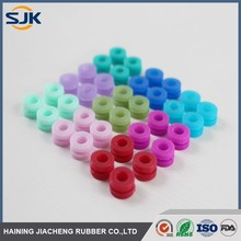 colored silicone rubber grommet