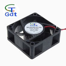 Gdt 6025S 5v 12v 24v High Speed and Low Noise Sirocco Fan 12Volt DC Fan 60X60X25mm