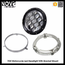 "Motorycly Led Headlamp Harley's lights Road glide 7"" LED Headlight High/Low Double Function For Harley & Davidson"