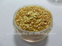 glitter gold pigment powder
