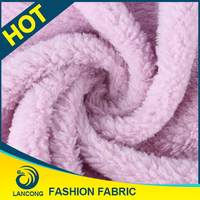 Shaoxing supplier for blanket Fashion fleece fabric stocklot