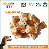 90g/bag Dog Biscuit Twisted Chicken Breast
