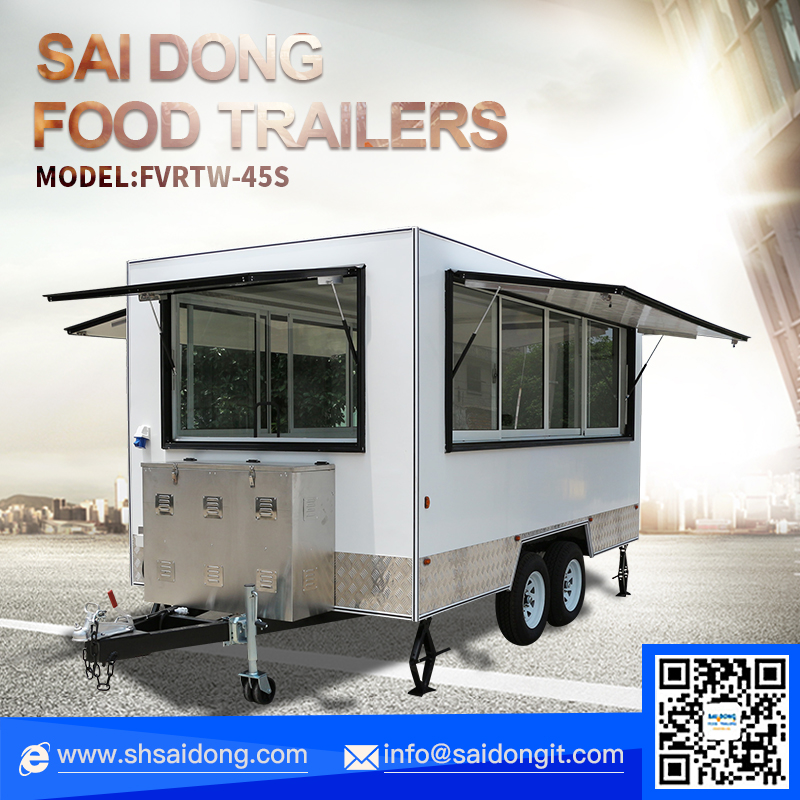 Mobile Kitchen/Best Designed Street Food Cart/Used Food Carts For Sale