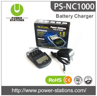 rechargeable battery intelligent charger 1.2 V LCD