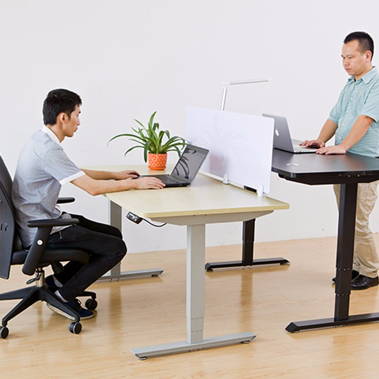 Workstation For Small Office Height Adjustable Desk Remote Control