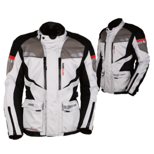 CE certified motorcycle riding jacket with armor and thermo liner