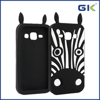 [GGIT] Cute Zebra Design Silicone Case For Samsung Galaxy Grand Prime G530 Back Cover