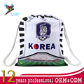 Traveller bags Russia world cup bags 2018 Korea drawstring backpack