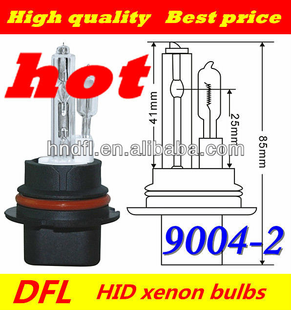 Newest 2013 Defeilang 9004 real factory wholesale price car HID xenon kit AC/DC 12v 24v 35w 55w 75w