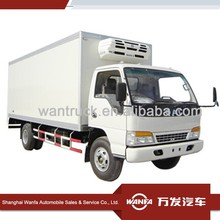 Refrigerator Truck Trailer Food Meat Transportation Cooling Van Japanese Used Freezer Truck