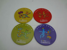 Hot sale - tinplate cup mat set,tin coaster set,tin drink coaster