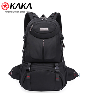 Wholesale hot style custom bag pack quality leather Multifunction shoulder notebook african cycling backpack