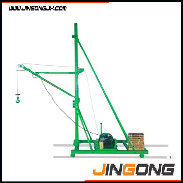 Portable product electric mini lifting crane / indoor mini crane