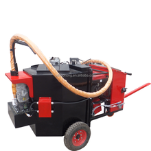 Road construction road crack asphalt material filling machine
