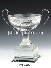 Crystal trophy cup, award trophy, crystal gifts