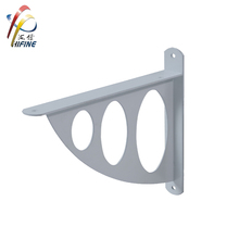 European market ornamental wall shelf bracket metal