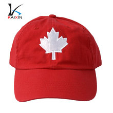 Alibaba popular embroidered baseball caps canada
