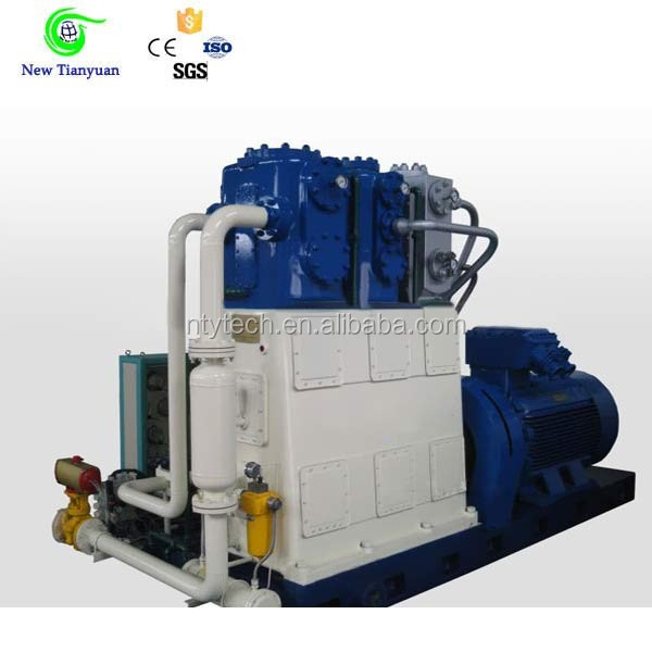 4 Compression Stage Natural Gas Reciprocating CNG Gas Compressor
