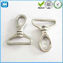 Low Price Metal Tri-Angle Ring With Alloy Snap Hook For Handbag