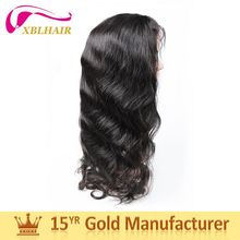 Verified supplier XBL competitive products full silk top cap lace wig