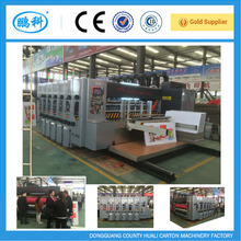 GREAT TOP SALE High speed 2 3 4 color flexo printing slotter machine/carton printing machine/corrugated box machinery