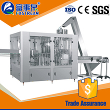 Factory sale automatic commercial carbonated soda water filling capping machine