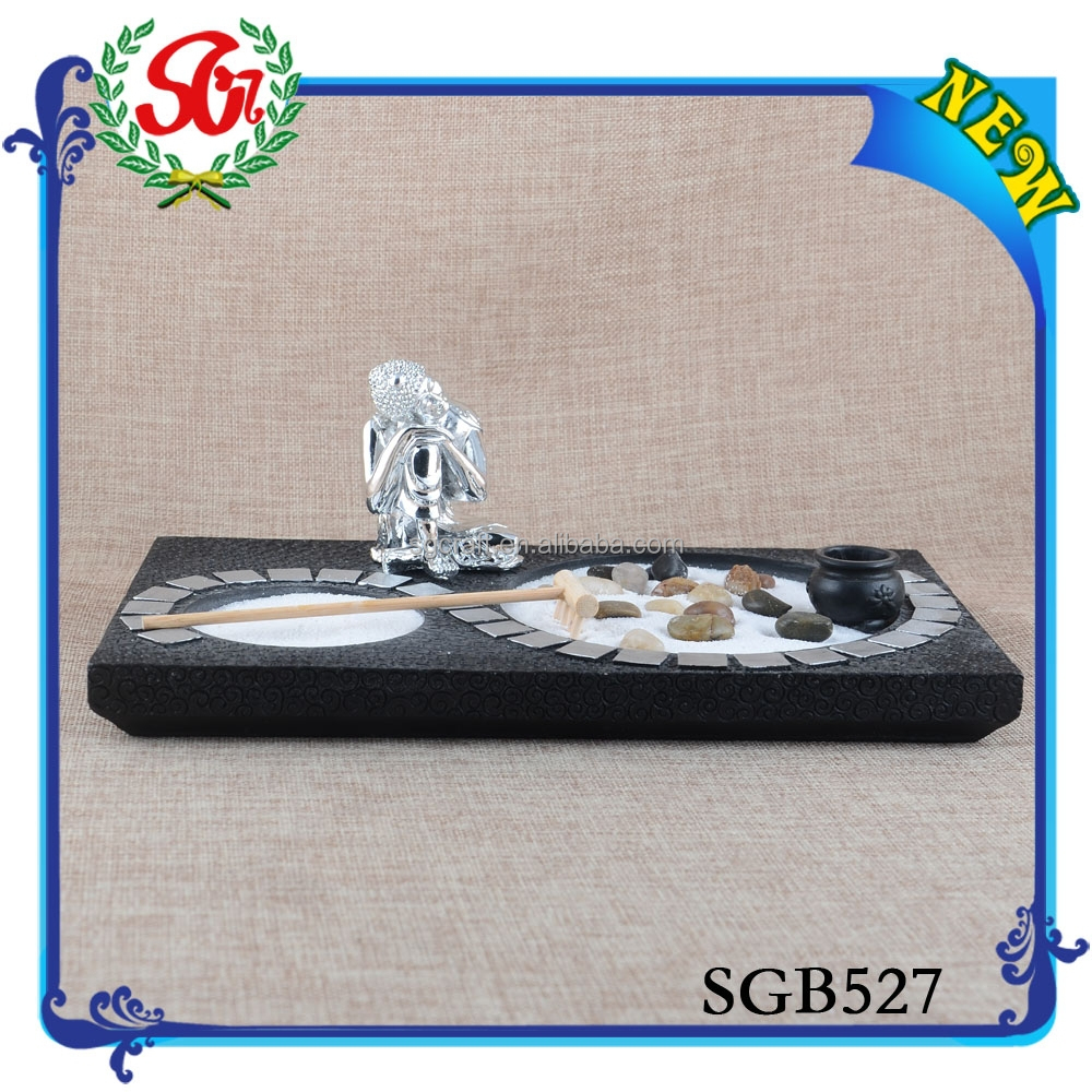 SGB527 Decoration Resin Material Art Craft,New Year Resin Souvenir Buddha Craft