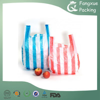 Shopping vest handle bags