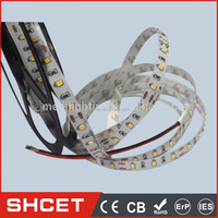 Yellow/blue/green/white/red 30LED 10-12LM SMD 5050 LED Strip/ Bar Light 7.2W DC12V 5M For Car Decorative