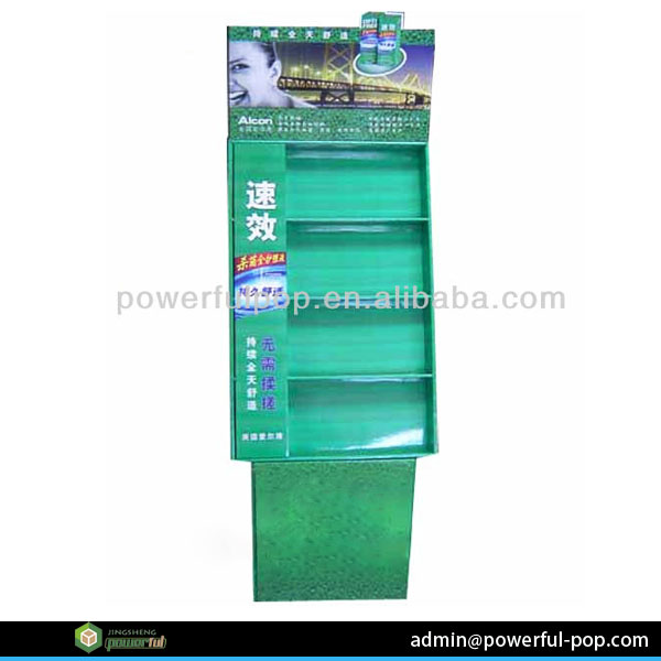 manufacture Alcon layers pop display cardboard wholesale scarf display rack