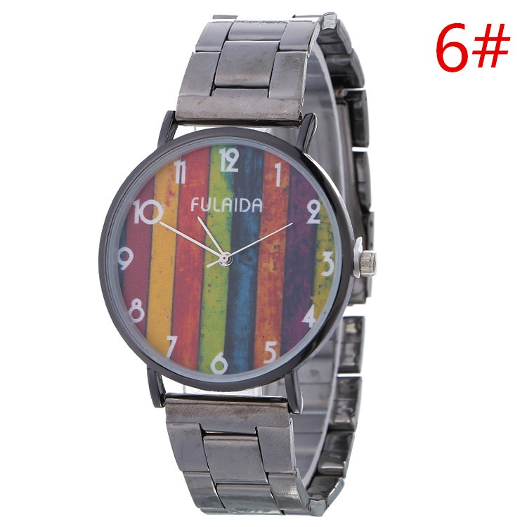 Quartz Watch With Japan Movt Amazing Pattern High Quality Singapore Movement Quartz Brand Watches