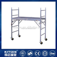 High quality easy to handle foldable mini scaffolding