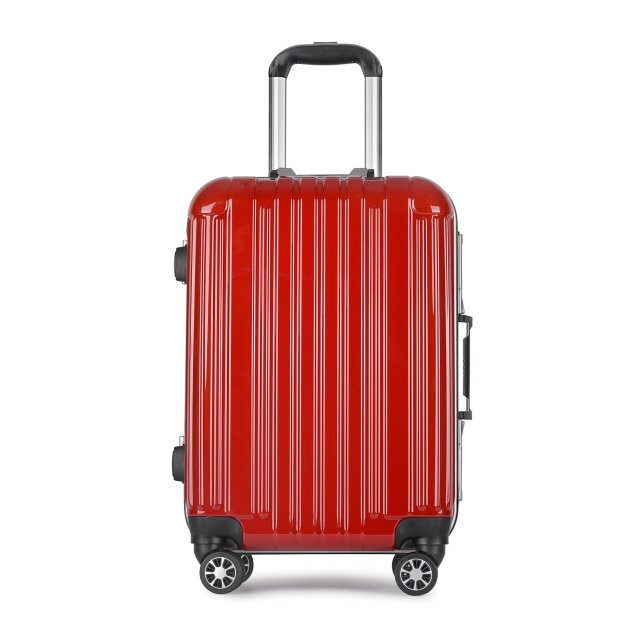 2016 New style ABS+PC hard shell trolley travel luggage