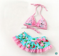 high quality hot selling 2015 new style kids swimwear for girls