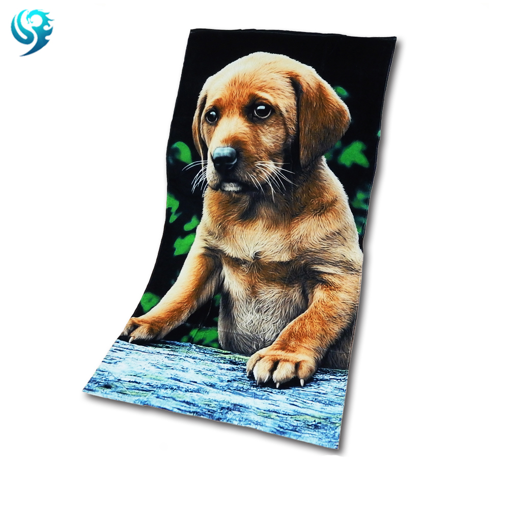 promotional sale rectangle custom print beach towel <strong>cotton</strong>