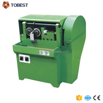 automatic thread rolling machine for making railway bolts