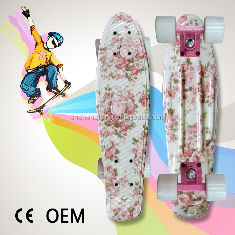 High Quality OEM Customized Design 22 inch mini cruiser Skateboards