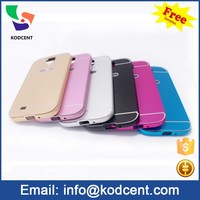 Mobile phone accessories s4 cases aluminium metal back cover case for samsung galaxy s4 i9500