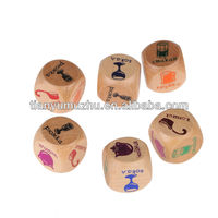 High quality fun play sex porn dice toys for game