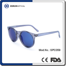 2016 Fashion Round Vintage PC Frame Free Sample Bulk Buy from China Alibaba in Spanish Sunglasses