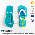 Hot Sell Hollowed-out Custom Printed EVA Flip Flops for Men Slippers